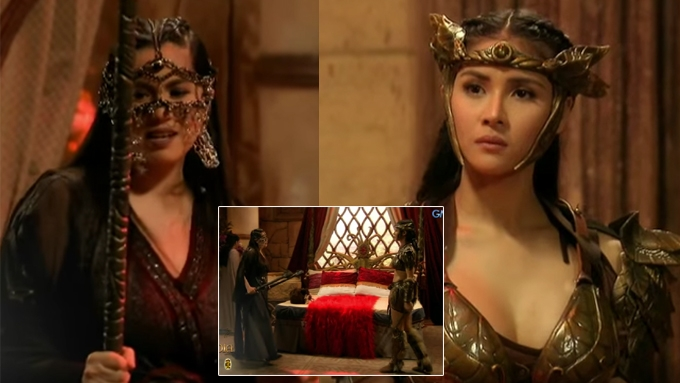 LOOK: Diana and Sanya face-off in Encantadia