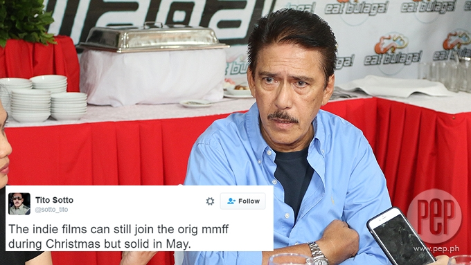 Senator Sotto proposes indie film fest separate from MMFF
