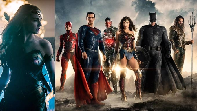 Wonder Woman, Justice League lead Warner's 2017 film lineup