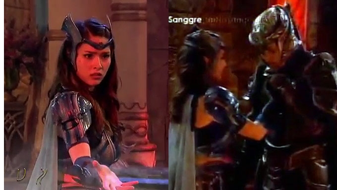How did Encantadia fare in ratings amid Kylie's condition?
