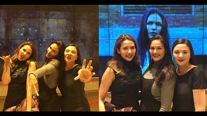 Karylle reunites with Encantadia co-stars Iza, Sunshine