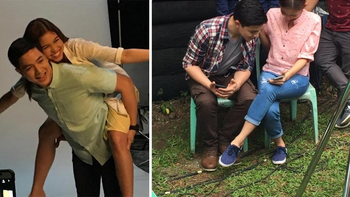 AlDub has sweet moments while shooting Destined To Be Yours