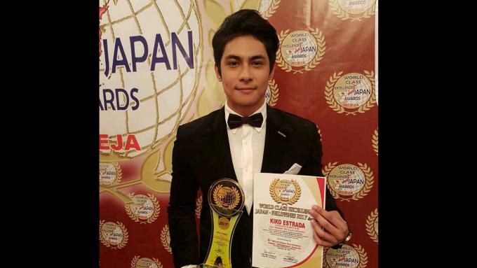 Kiko bags World Class Excellence Japan Best Actor award