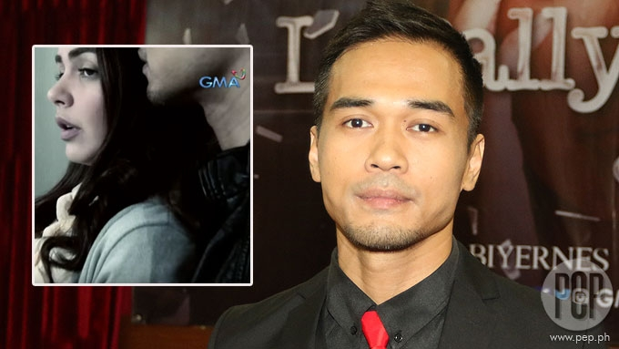 Marc on rape scene with Janine: