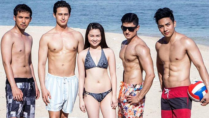 LOOK: Barbie Forteza in bikini, Meant To Be boys go topless