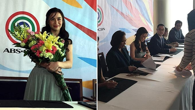 Yassi signs exclusive contract with ABS-CBN