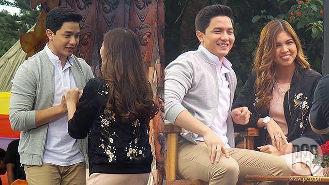 WHAT YOU DIDN'T SEE ON TV: AlDub sweet moments at Panagbenga