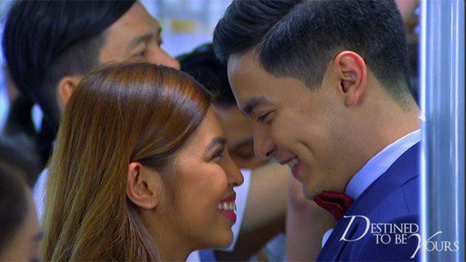 AlDub's first kilig moment in Destined To Be Yours