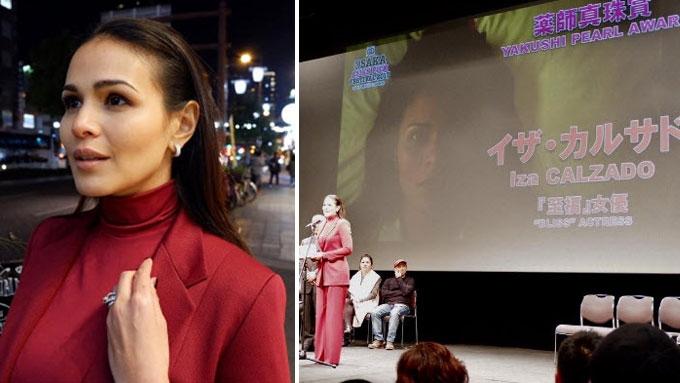 Iza Calzado explains why she cried over her first intl award