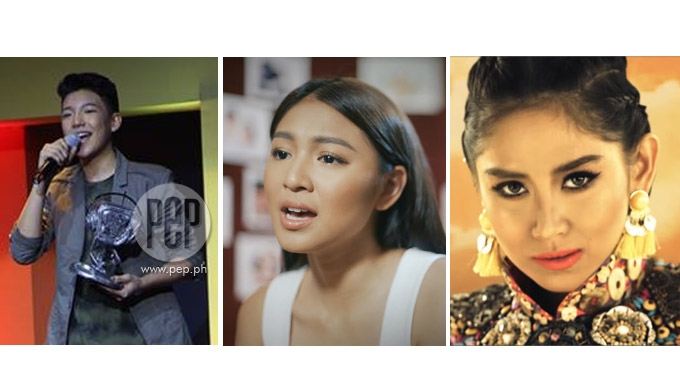 Sarah, Darren, Nadine among 2017 MYX Music Awards winners