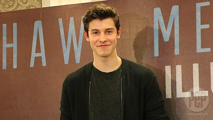 Canadian singer Shawn Mendes jumped off waterfall in Cavite