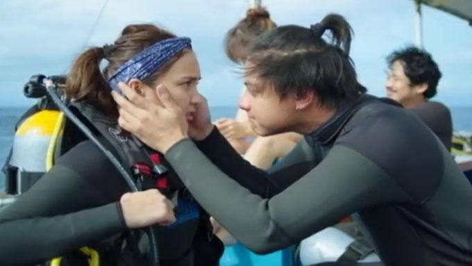 LOOK: Sweet moments of KathNiel in Cebu