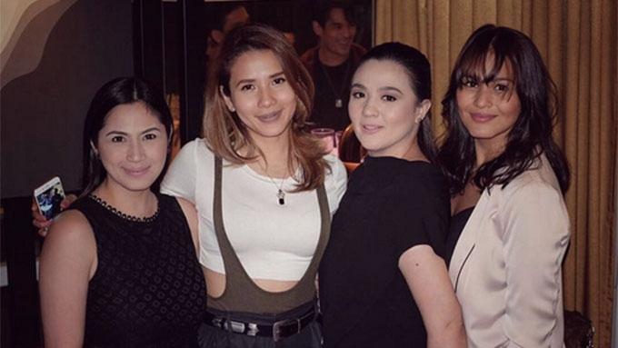 Original Sang'gres Sunshine, Iza, Karylle, Diana reunite