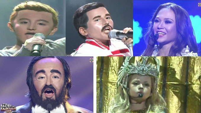 Your Face Sounds Familiar Kids: Sam, AC, Alonzo, Elha, Xia