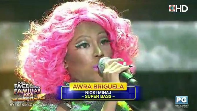 Awra named first Your Face Sounds Familiar Kids winner