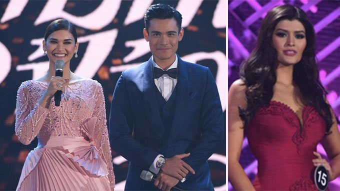 Funny quips of Pia Wurtzbach and Xian Lim at Bb Pilipinas