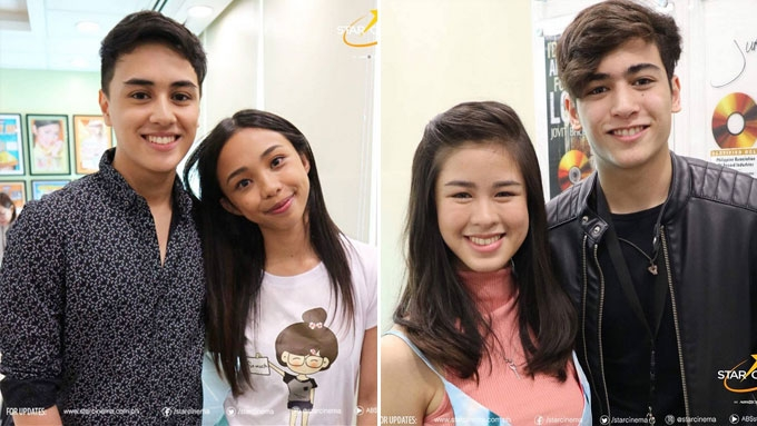 MayWard and Kisses-Marco love teams to star in first movie