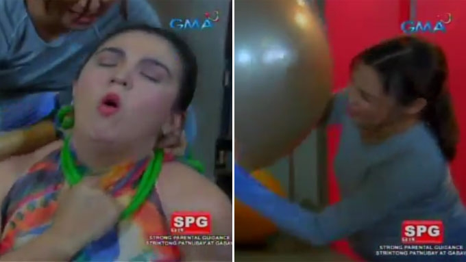 LOOK: Sunshine-Ryza have a gym face-off in Ika-6 Na Utos