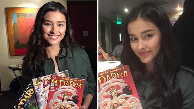 Here's what Angel Locsin gave Liza after bagging Darna role