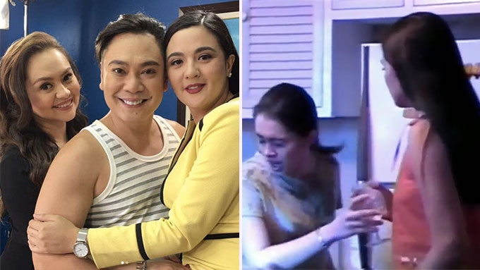 Angelika reunites with ex-TV rival Sunshine in Ika-6 Na Utos