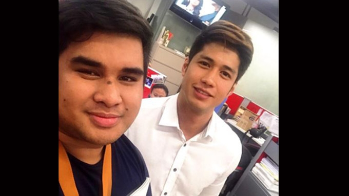 Aljur visits ABS-CBN office; will he become a Kapamilya?