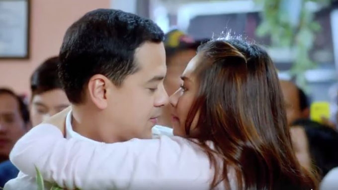 Sarah gets close to John Lloyd in Finally Found Someone