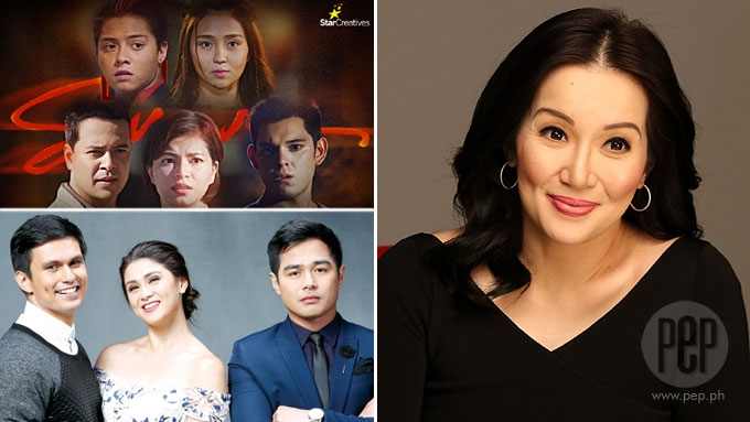Kris Aquino is a fan of these shows on ABS-CBN, GMA-7