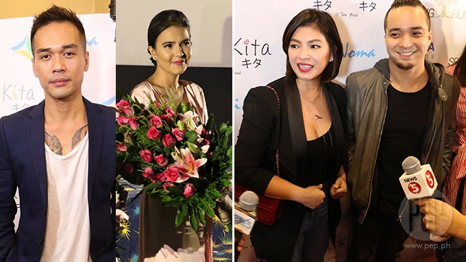 Angel Locsin-Neil Arce, Vice Ganda grace Kita Kita screening