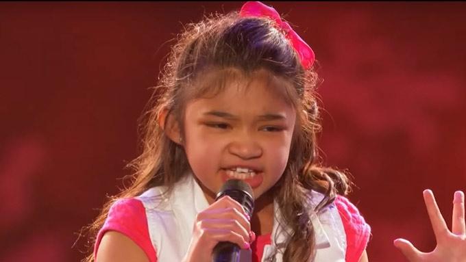 Angelica Hale, 9, gets Golden Buzzer on America's Got Talent