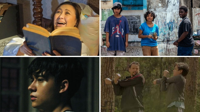 Which movies are the top-grossing films of Cinemalaya 2017?