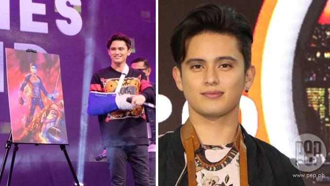 James-Nadine project in the works; James co-stars w/ Sarah G