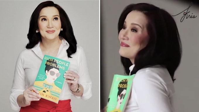 Kris Aquino confirms part in Crazy Rich Asians