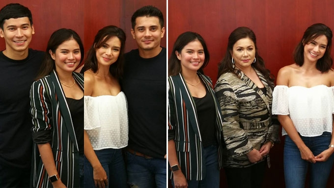 Erich, Enchong joined by former GMA star Louise in new show