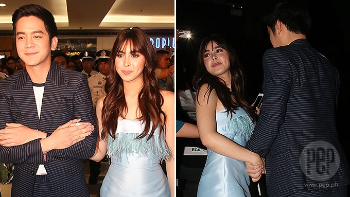 Joshua, Julia spotted holding hands at LYSB premiere