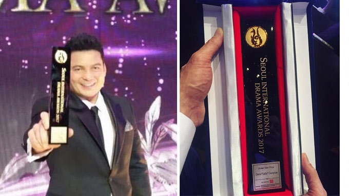 Gabby Concepcion wins in Seoul International Drama Awards