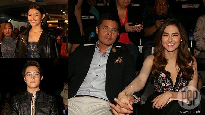 DongYan, LizQuen, Charlene spotted at Star Cinema premiere