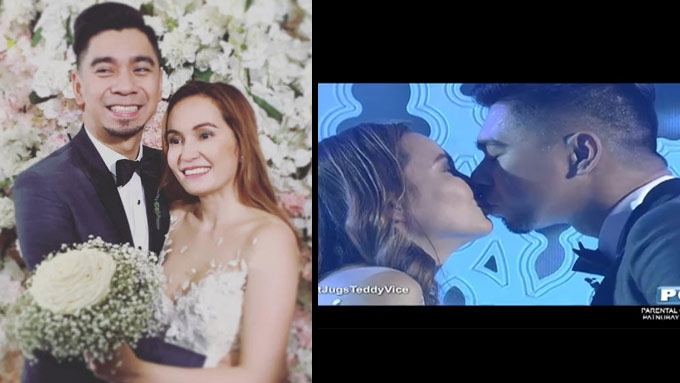 Teddy Corpuz explains why he married wife in It's Showtime
