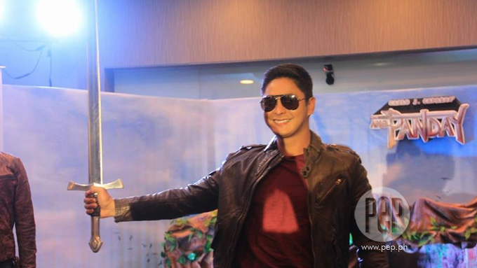 How big is the budget allotted by Coco Martin for <em>Ang Panday</em>?