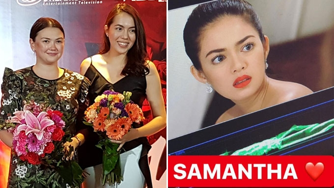 Who replaced Angelica Panganiban in Julia Montes-Lorna teleserye?