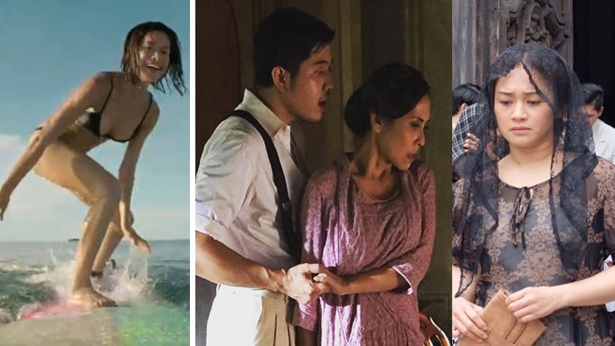Which finished films are vying to be MMFF 2017 entries?