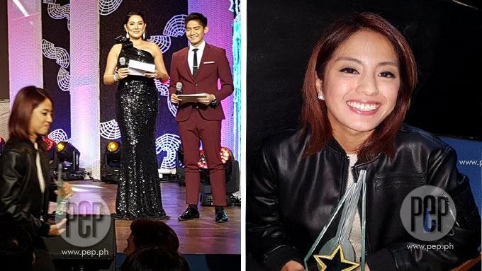 Did Gretchen Ho take a swipe at ex-bf Robi at Star Awards?