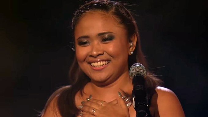 Here's Alisah Bonaobra final performance in <em>X Factor UK</em>