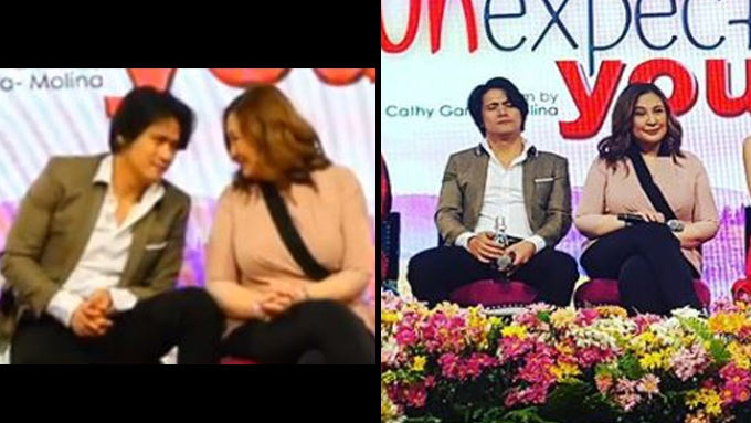 Robin Padilla talks about kissing ex-girlfriend Sharon anew