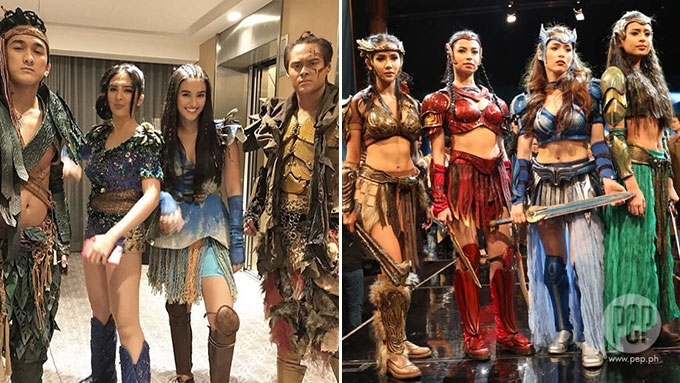 Netizens compare LizQuen's <em>Bagani</em> to GMA-7's <em>Encantadia</em>