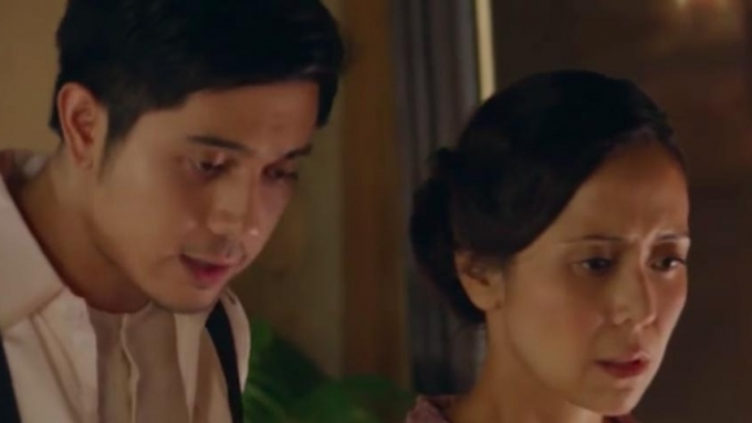 Rachel, Paulo Avelino shoot seduction scene for <em>Ang Larawan</em>