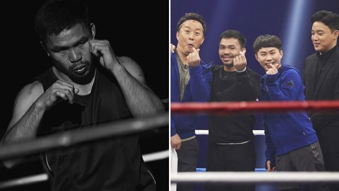 What Manny Pacquiao did in Korean show episode