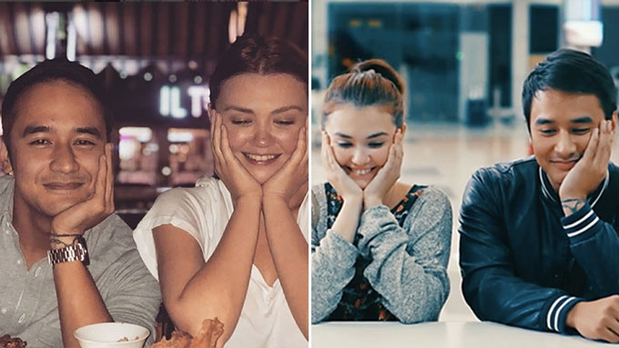 Angelica, JM recreate <em>That Thing Called Tadhana</em> poster