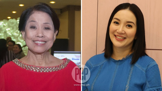 Mother Lily of Regal wants to produce movie for Kris Aquino