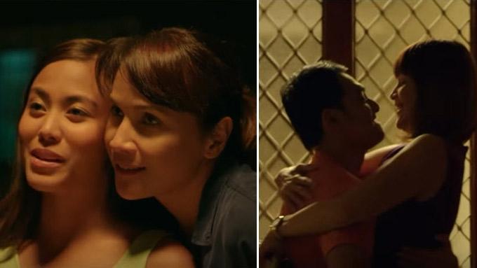 Agot Isidro on scene with Anna Luna: