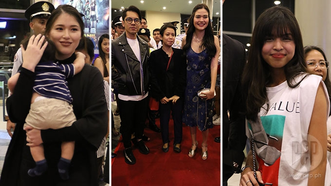 Maine takes selfie with Carlo; Kylie, Robin attend premiere
